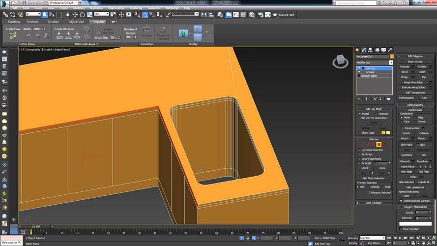 3dmax model - آموزش تری دی مکس در کابینت سازی