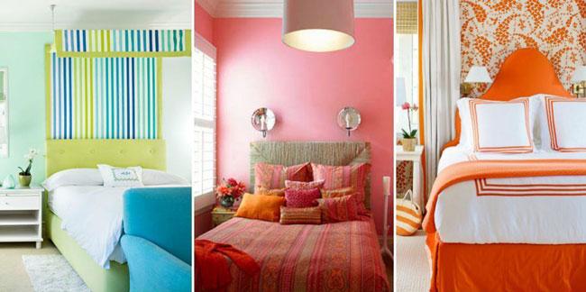 bedroom color - دکوراسیون اتاق خواب ، طراحی اتاق خواب