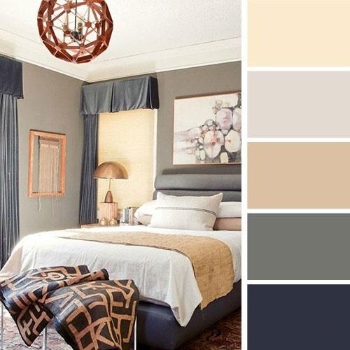 رنگ در طراحی اتاق خواب