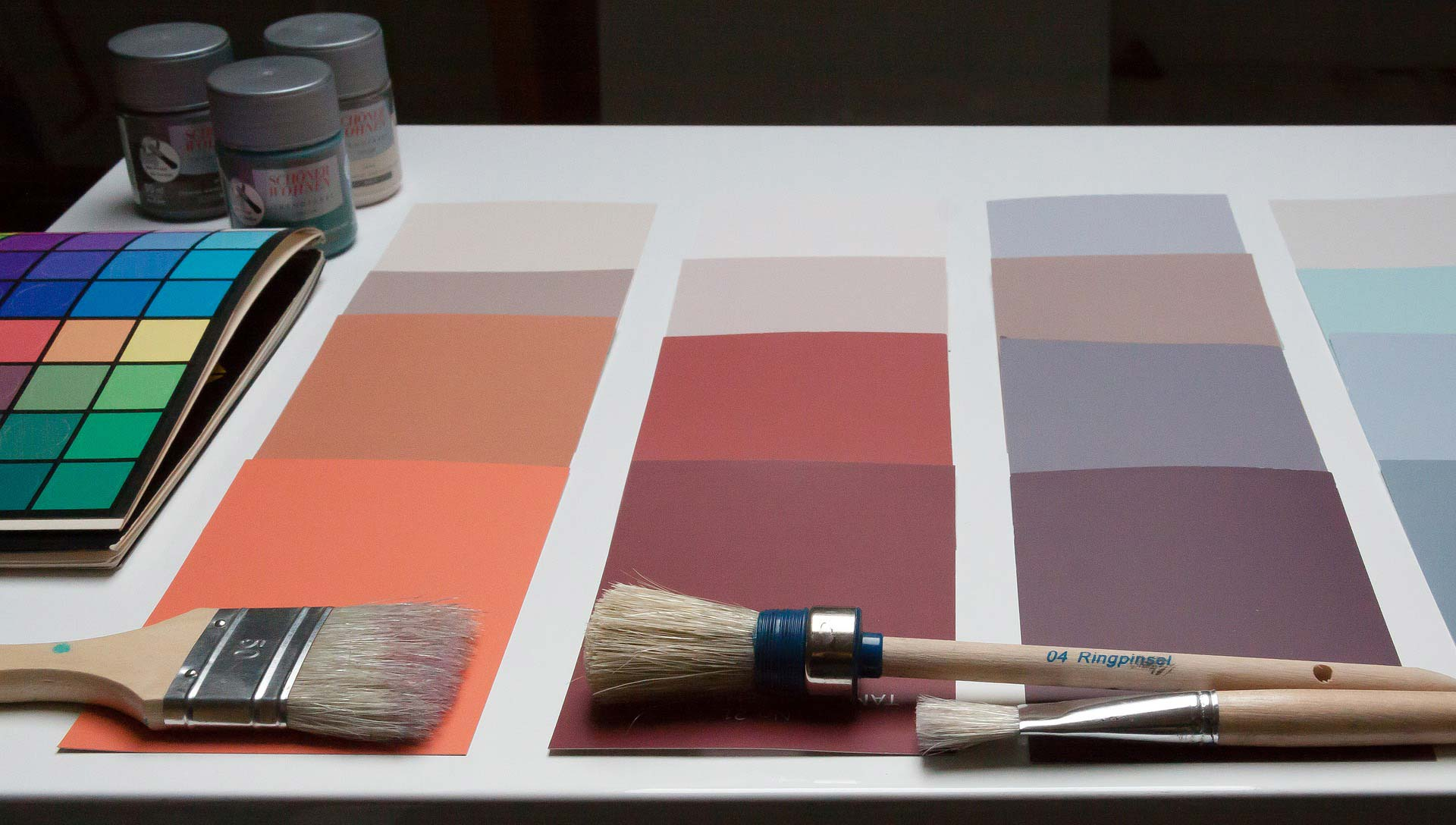 color patterns interior design - نقش رنگ در دکوراسیون