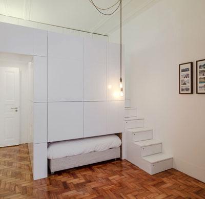 compact bed - ایده مدیریت فضاهای کوچک