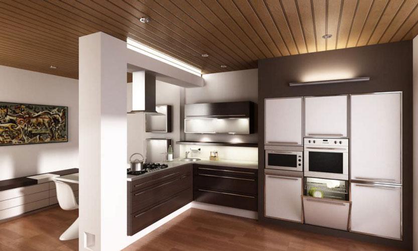 kitchen3d model max - آموزش تری دی مکس در کابینت سازی