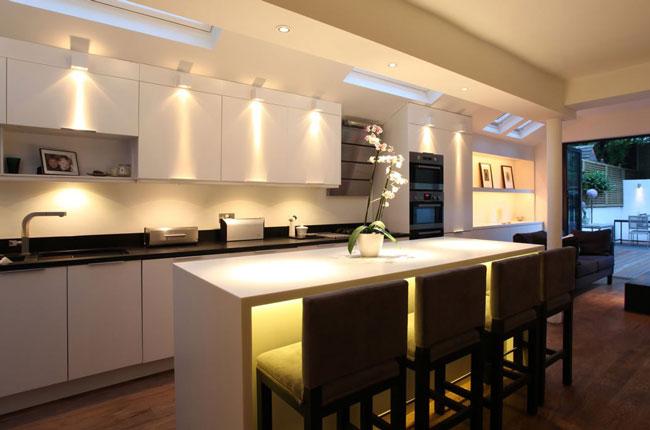 light fixtures kitchen - دکوراسیون آشپزخانه