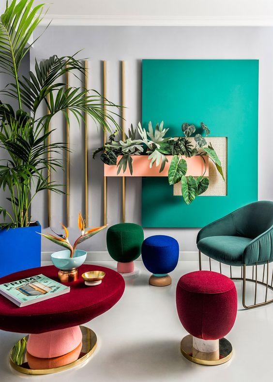 نقش رنگ در طراحی داخلی