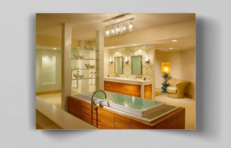طراحی حمام و سرویس بهداشتی