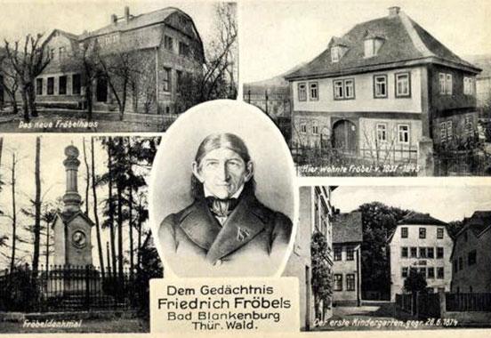 kindergarten Frobel - رشد کودک و تحصیل هنر