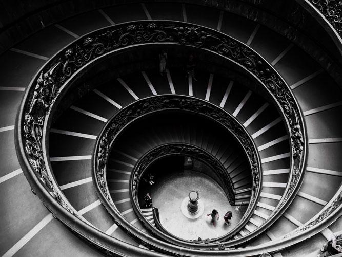 عکاسی معماری و پلکان