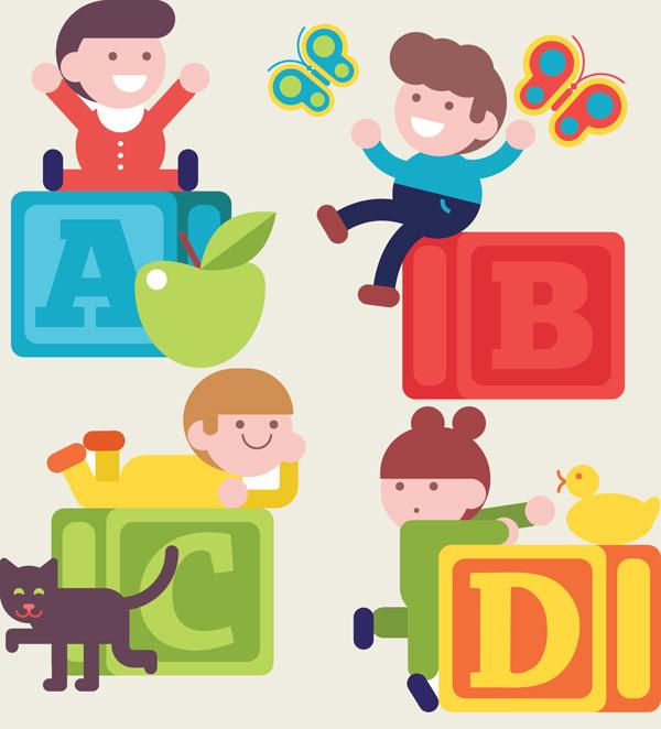 کلاس زبان کودکان