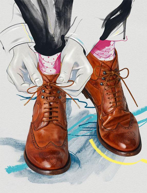 fashion illustration marketing 1 - آنچه دربارهی تصویر سازی مد باید بدانید
