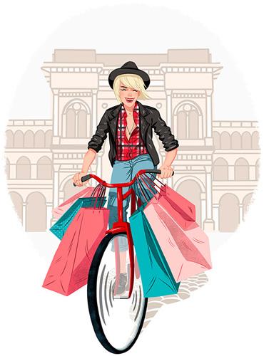 moda illustration1 - آنچه دربارهی تصویر سازی مد باید بدانید