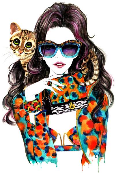 moda illustrator - آنچه دربارهی تصویر سازی مد باید بدانید