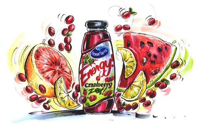 food illustration - اهمیت تصویرسازی در تبلیغات
