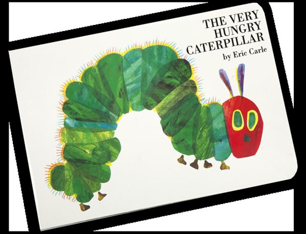 hungry caterpillar book 1 - 10 تصویرساز که همه باید بشناسند