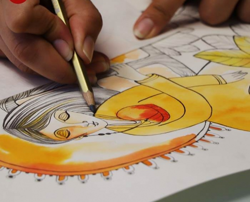 illustration tasvirsazi pouyaandish 14 495x400 - انواع تصویر سازی و تکنیک های آن