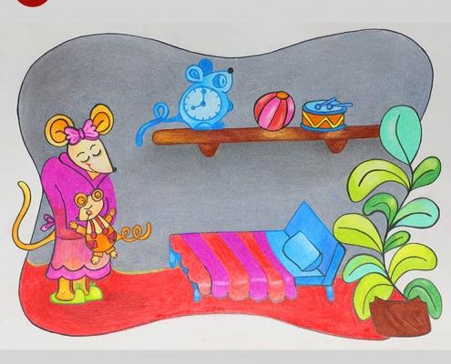 illustration tasvirsazi pouyaandish 15 495x400 - انواع تصویر سازی و تکنیک های آن