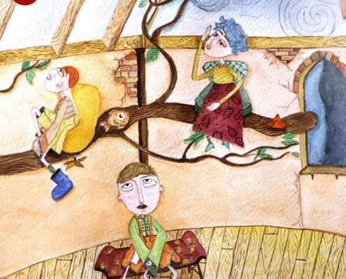 illustration tasvirsazi pouyaandish 20 495x400 - انواع تصویر سازی و تکنیک های آن