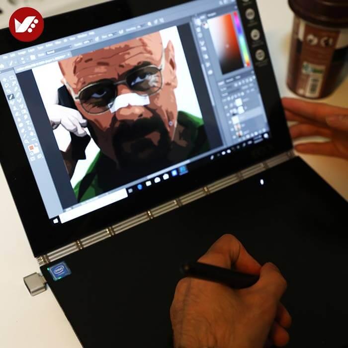 illustration tasvirsazi pouyaandish 35 - انواع تصویر سازی و تکنیک های آن