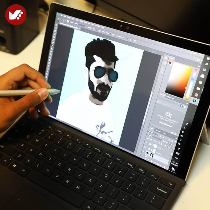 illustration tasvirsazi pouyaandish 36 - انواع تصویر سازی و تکنیک های آن