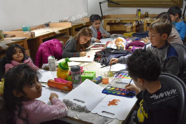 آموزشگاه نقاشی کودکان