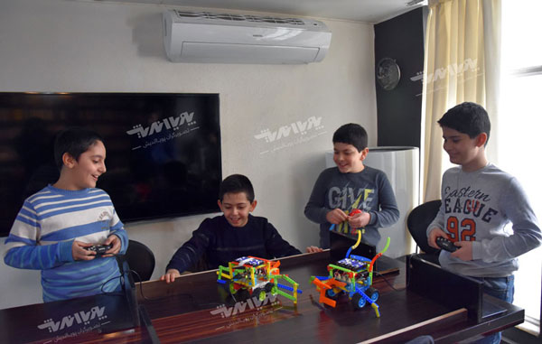 robotc class1 - پنج دلیل برای لزوم کلاس رباتیک در مدارس