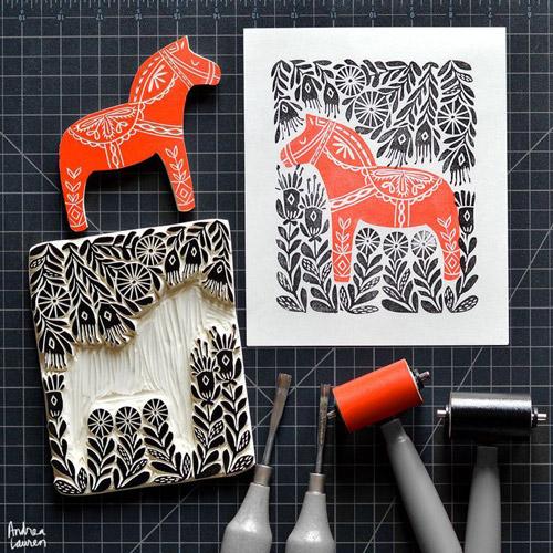 wood print 1 - انواع تصویر سازی و تکنیک های آن