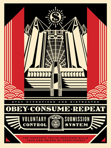 Church  of  Consumption 1 - سبکهای تصویرسازی در 30 سال گذشته