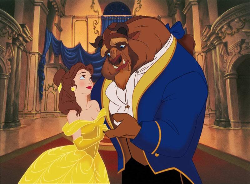 Disney beast  and  beauty - تاریخچه تصویرسازی