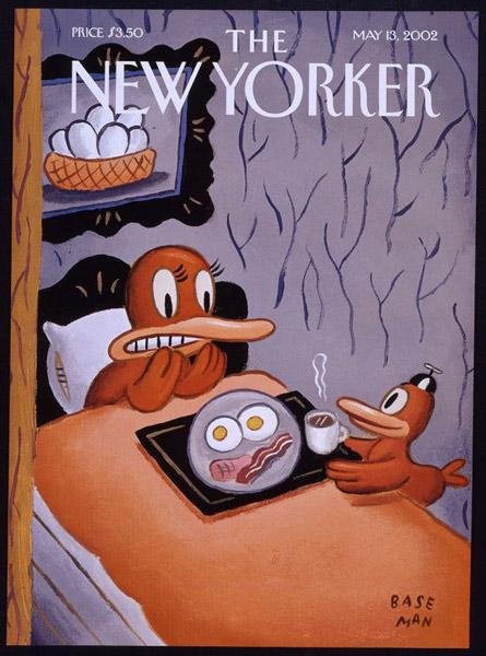 Gary  Baseman new yourker cover - سبکهای تصویرسازی در 30 سال گذشته