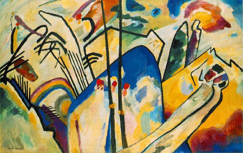 German Expressionism Wassily Kandinsky - سبکهای تصویرسازی در 30 سال گذشته