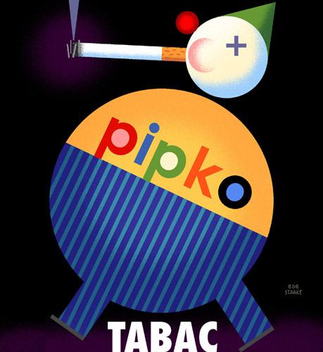 Pipko  Tabac - سبکهای تصویرسازی در 30 سال گذشته