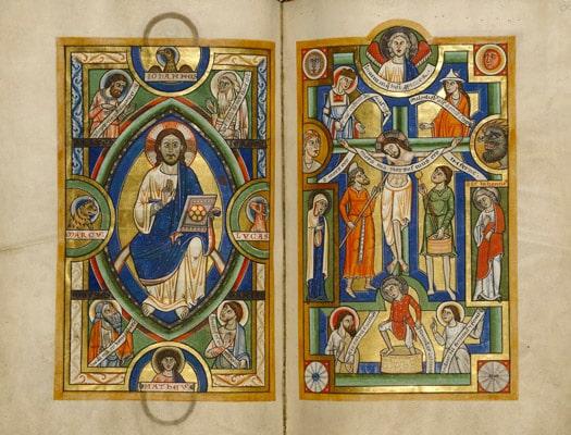 تاریخچه تصویرسازی در قرون وسطی