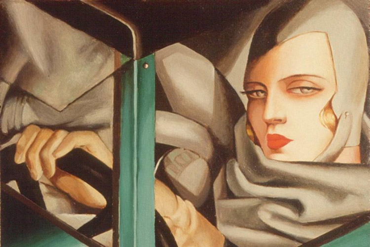 modernism Green Bugatti 1929 - سبکهای تصویرسازی در 30 سال گذشته