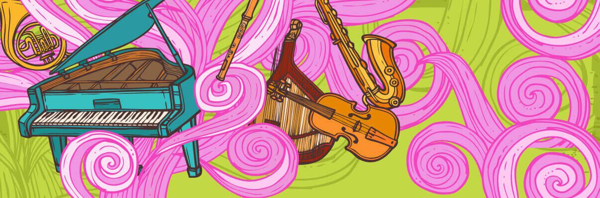 music learing 1 - 6 مزیت آموزش موسیقی