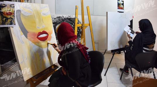 naghashi kelass - آموزش نقاشی