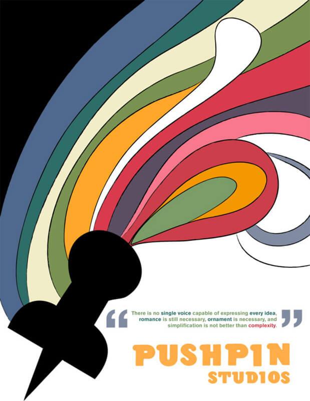 pushpin studios 1 a5c356a11e3937e2fba1d07496e6752f - سبکهای تصویرسازی در 30 سال گذشته