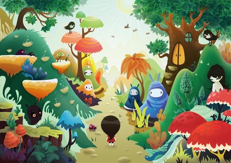 zutto very long journey - سبکهای تصویرسازی در 30 سال گذشته