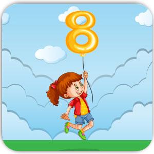 آموزش زبان کودکان 8 ساله