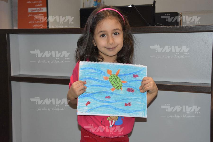 art class 13 - مهارت های هنری و نوشتاری کودک چه نکاتی را افشا میکنند؟