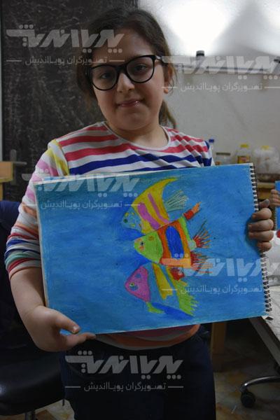 art class 14 - مهارت های هنری و نوشتاری کودک چه نکاتی را افشا میکنند؟