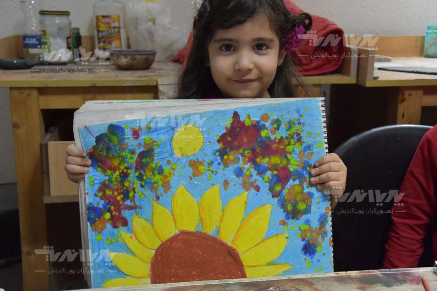 art class 15 - مهارت های هنری و نوشتاری کودک چه نکاتی را افشا میکنند؟
