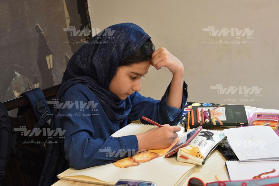 art class 18 - مهارت های هنری و نوشتاری کودک چه نکاتی را افشا میکنند؟