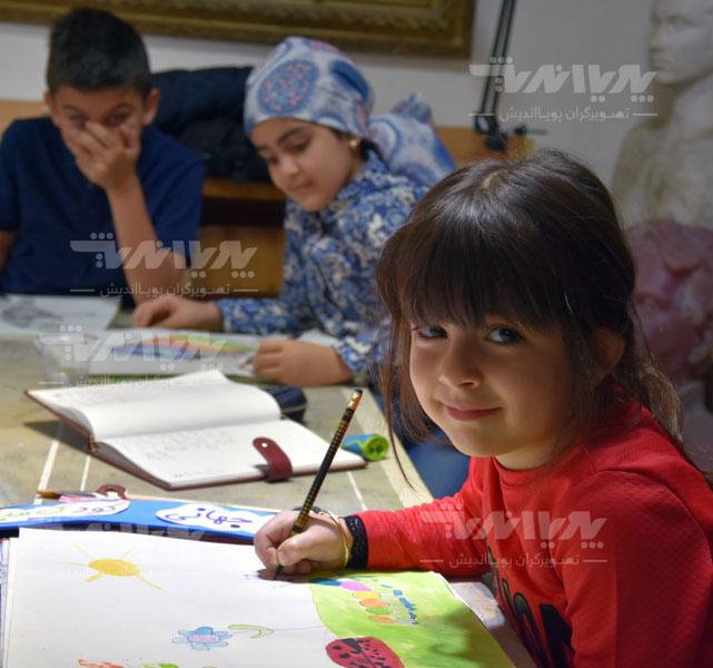 art class 19 - مهارت های هنری و نوشتاری کودک چه نکاتی را افشا میکنند؟