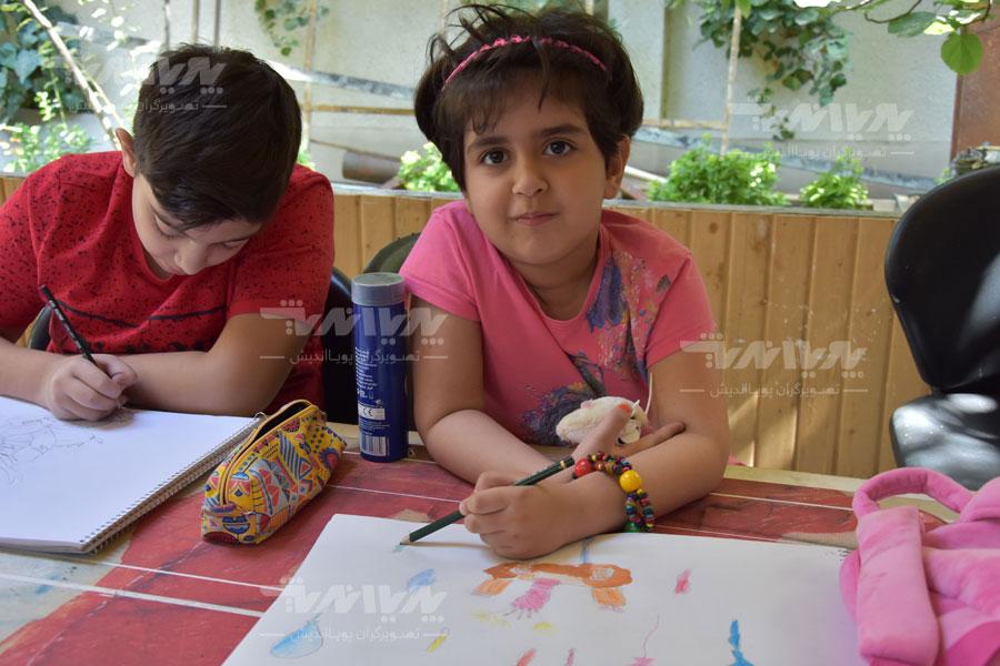 art class 23 - مهارت های هنری و نوشتاری کودک چه نکاتی را افشا میکنند؟