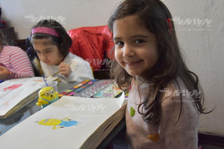 art class 8 - مهارت های هنری و نوشتاری کودک چه نکاتی را افشا میکنند؟