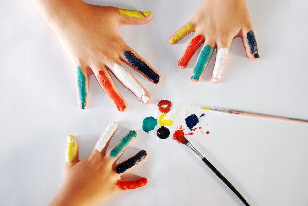 boom color - چرا هنر باعث ارتقای هوش کودکان میشود؟