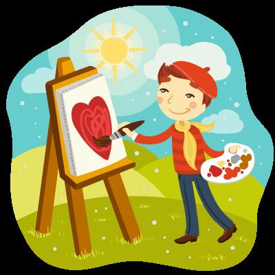 boy artist - آیا هنر و صنایع دستی اعتماد به نفس کودکان را افزایش میدهد؟