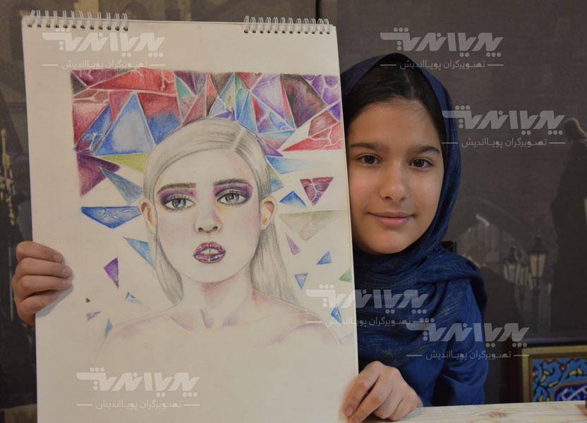 child paint - چطور کودکان به وسیلهی هنر، مهارت ایجاد میکنند؟