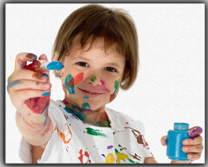 childern art - چطور کودکان به وسیلهی هنر، مهارت ایجاد میکنند؟