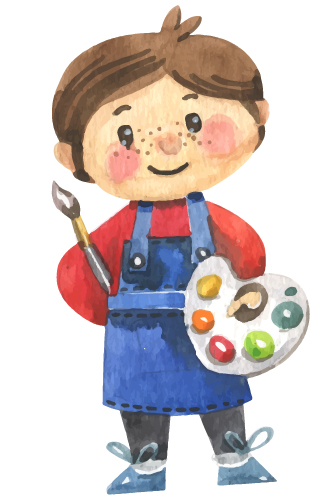colorwater kid - چرا هنر باعث ارتقای هوش کودکان میشود؟