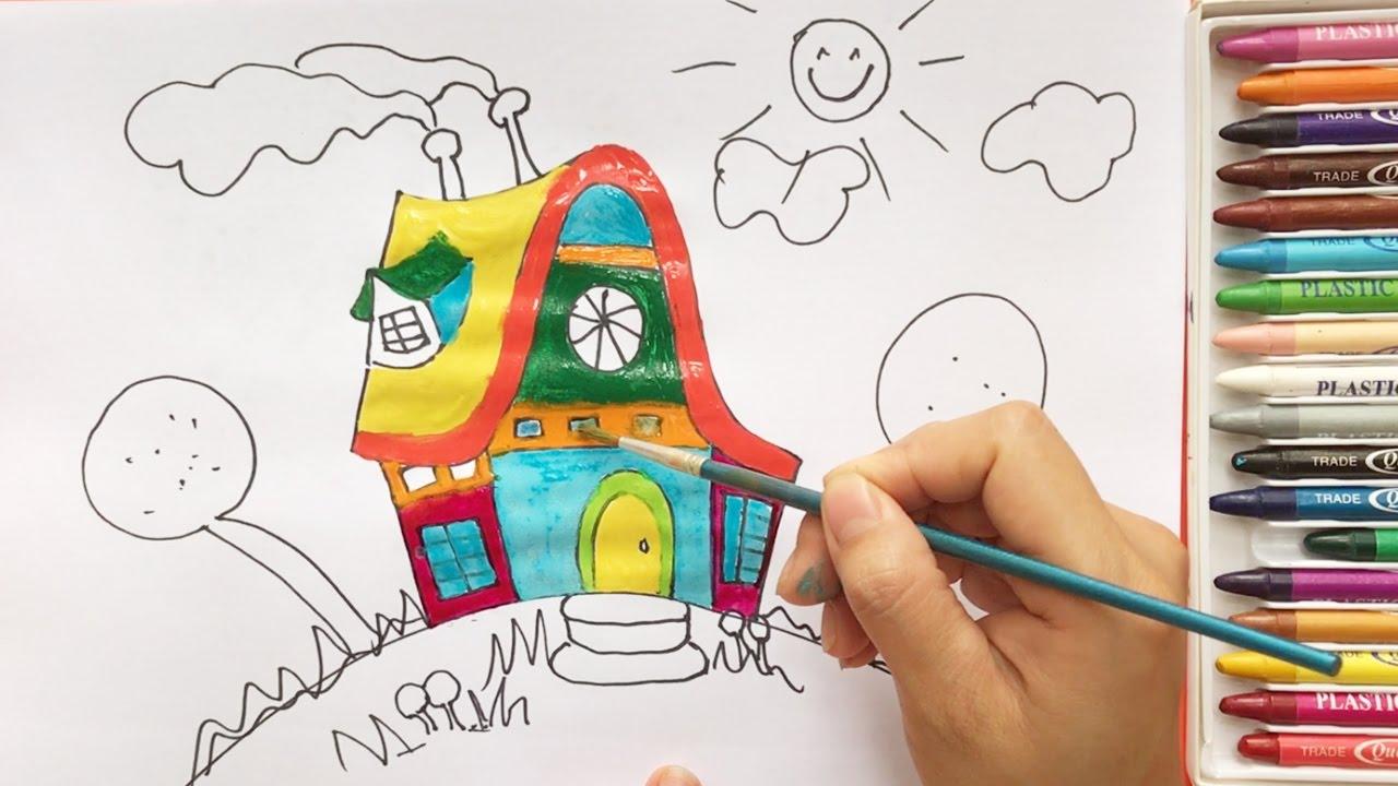 draw for fun - تفسیر نقاشی کودکان